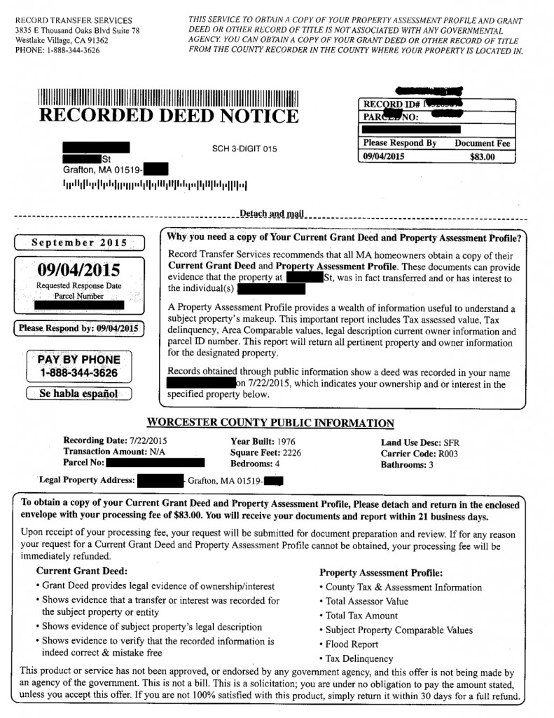 Recorded Deed Notice_Redacted